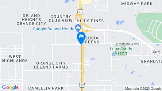 Days Inn by Wyndham Orange City/Deland Map