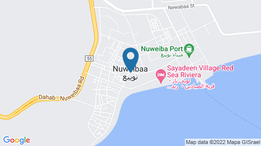 Fayrouz Beach Camp Map