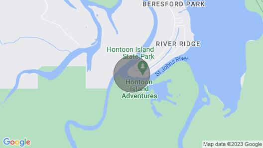 Executive Suite at Hontoon Landing Resort & Marina Map
