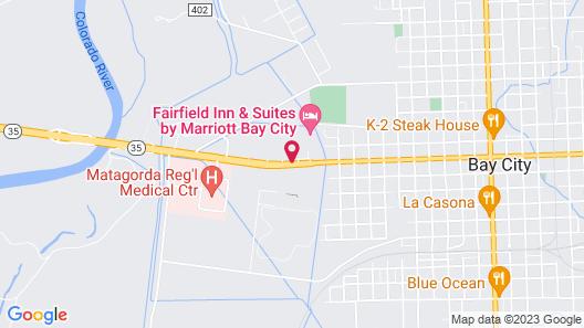 Fairfield Inn & Suites by Marriott Bay City Map