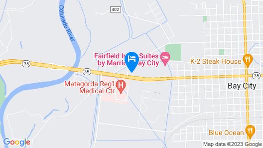 OYO Hotel Bay City TX-35 Map