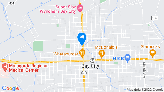 TOWN HOUSE MOTEL Map
