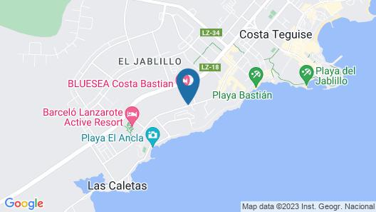 Ocean Suites Lanzarote Map