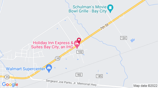 Candlewood Suites Bay City Map