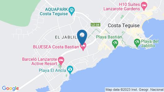 Vitalclass Lanzarote Resort Map