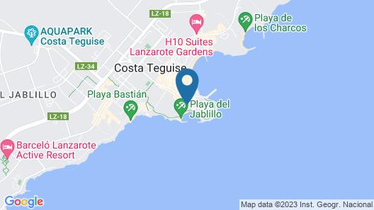 Galeon Playa Map
