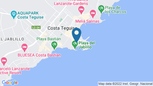 Hotel Grand Teguise Playa Map