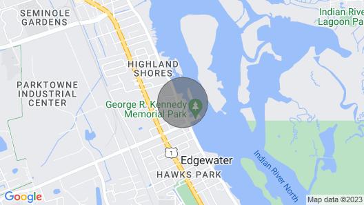 Inter-coastal Riverside Paradise Map