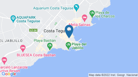 Barceló Teguise Beach - Adults only Map