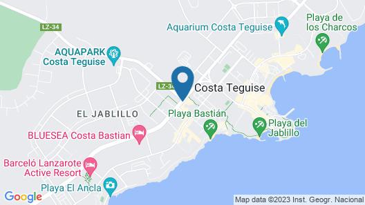 BlueBay Lanzarote Map