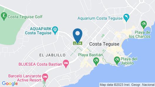 Blue Sea Costa Teguise Gardens Map