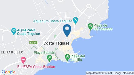 Apartamentos Celeste Map