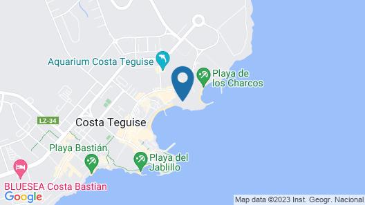 Melia Salinas Map