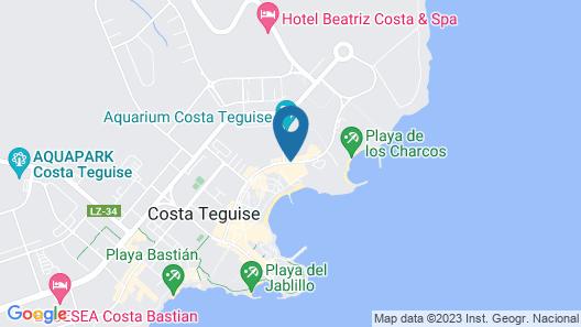 Los Zocos Club Resort Map