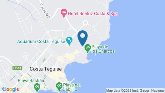 HD Beach Resort Map