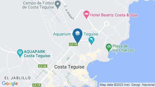 Apartamentos HSA Ficus Map