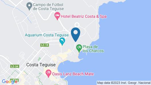 Hotel Club Siroco - Solo Adultos Map