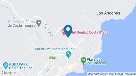 Hotel Beatriz Costa & Spa Map