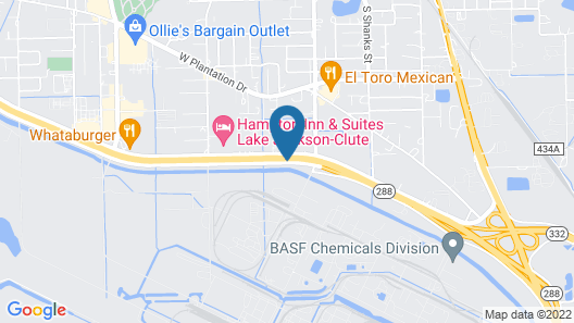 Baymont by Wyndham Clute Map