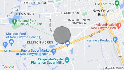 Relax-new Smyrna Beach , Sun, Shop, Ocean & Pool Map