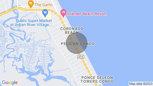 The Pelican of New Smyrna Beach Florida Map