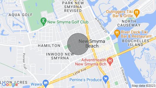 New! New Smyrna Beach Home < 3 Mi to Beach + Parks Map