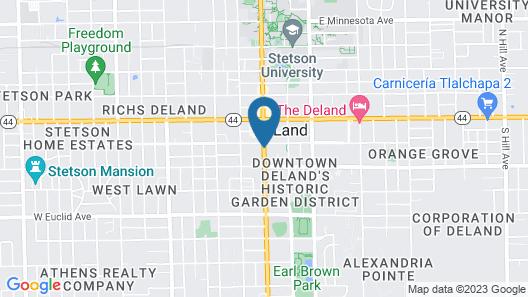 Artisan Downtown Map
