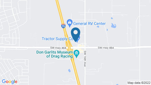 Microtel Inn & Suites by Wyndham Ocala Map