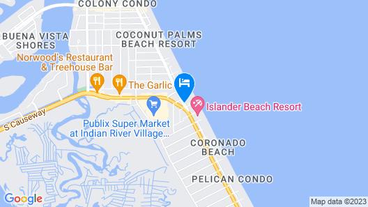 Best Western New Smyrna Beach Hotel & Suites Map