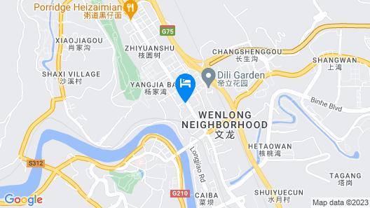 Howard Johnson Puhui Plaza Chongqing Map