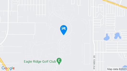 55+ Golf country club community Map