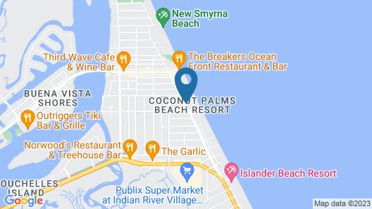 Coconut Palms Beach Resort II a Ramada by Wyndham Map