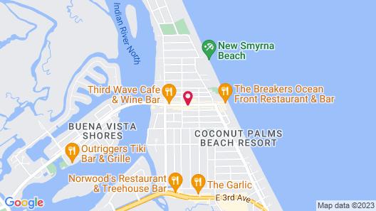 Inn On the Avenue Map