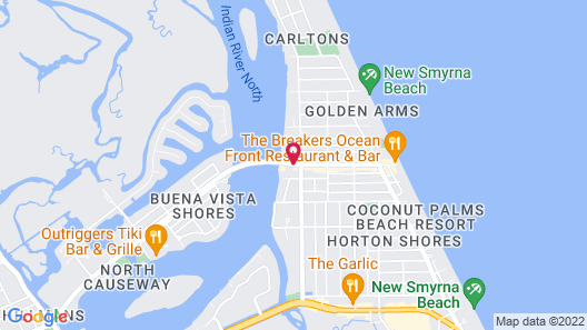 The Riverview Hotel Map