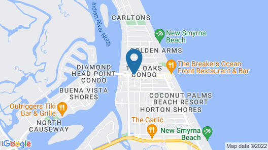 Hampton Inn New Smyrna Beach Map
