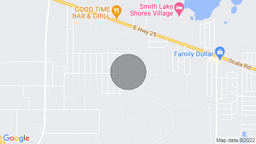 Del Webb Gated Community, Five Miles North of the Villages Map