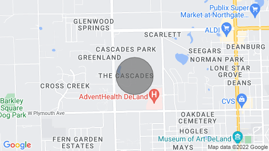 Daytona Beach Home in Gated Community With Lovely Details Map