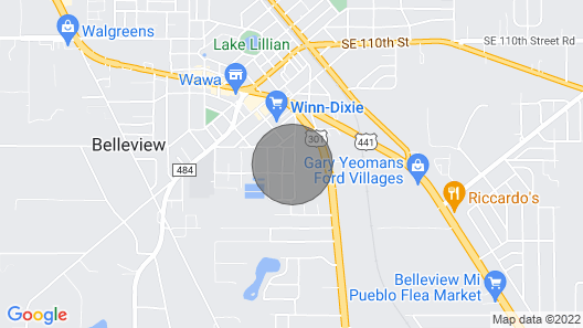 Home for vacation near Orlando (by car) Map