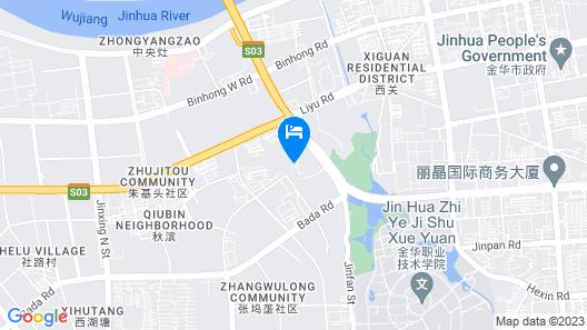 HAO SEN Holiday Garden Hotel - Jinhua Map