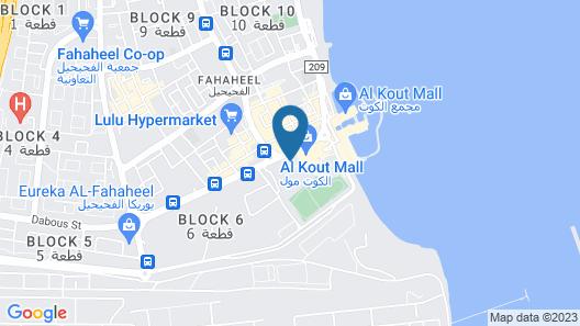 Hyatt Regency Al Kout Mall Map