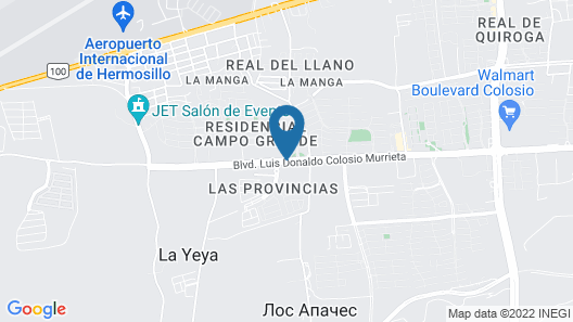 Holiday Inn Express & Suites Hermosillo Map