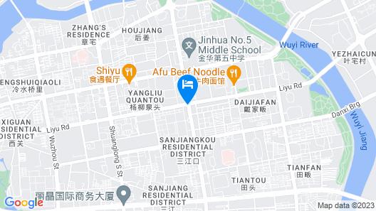 Zhotels Map