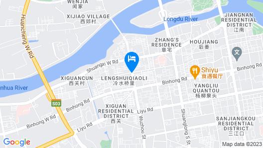 Jinjiang Inn Jinhua Binhong Road Map