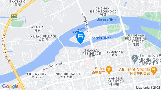 Jinhua Narada Hotel Map