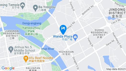Wanda Realm Jinhua Map