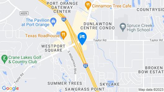 Country Inn & Suites by Radisson, Port Orange-Daytona, FL Map
