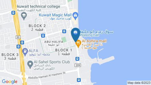 Magic suite Abu Halifa Map