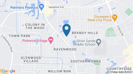 Daytona Beach RV Resort Map