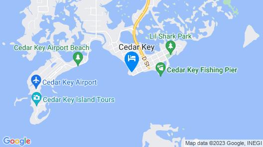 Beach Front Motel Map