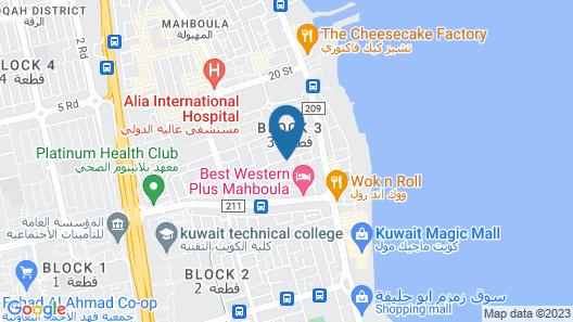 Magic Suite Al Mahboula - 2 Map